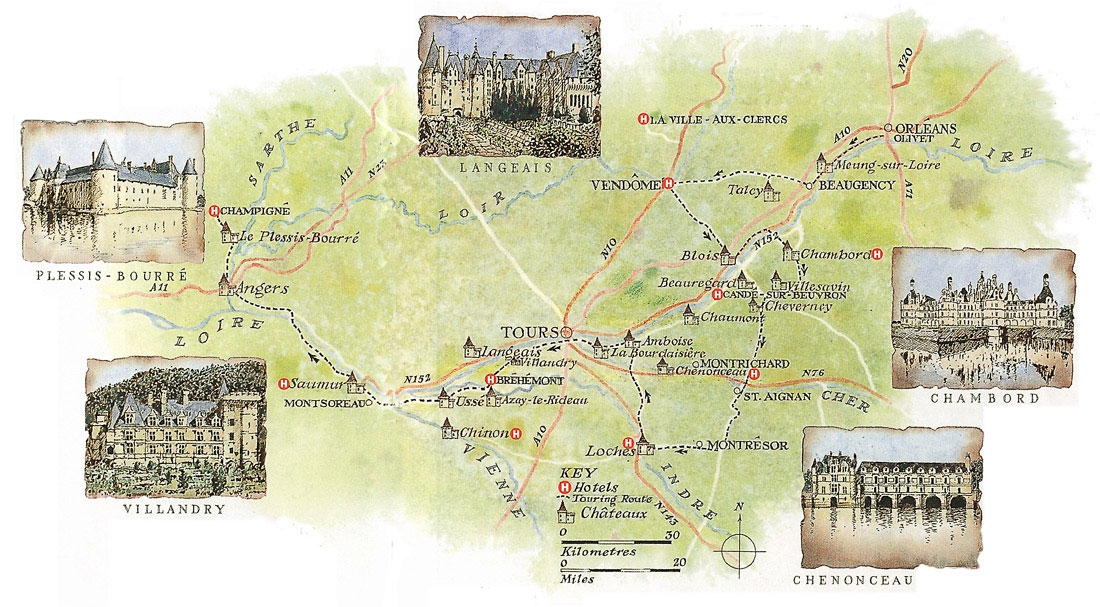 France Culinary Cycling Tour Loire Burgundy