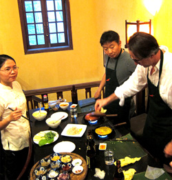 Cooking class in Hoi An, Vietnam