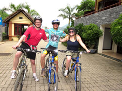 Mai Chau Vietnam Bicycle Touring