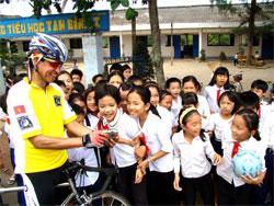 Cycling Mekong Delta