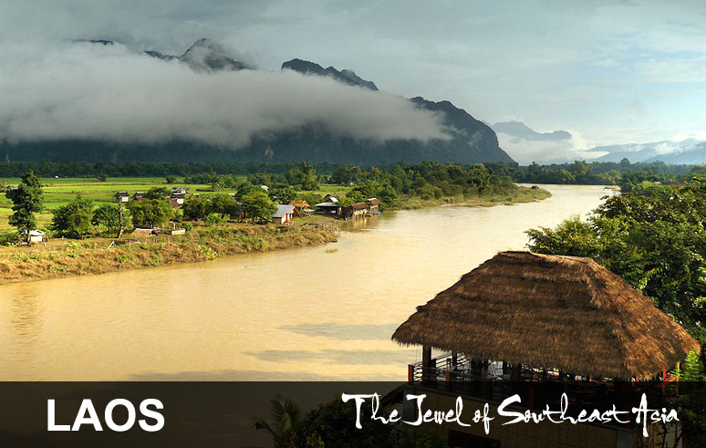 Laos Bicycling Tour
