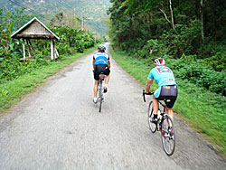 Laos Bicycle Touring