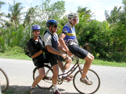 Vietnam Cycling for Three