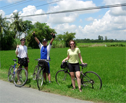 Mekong Delta Vietnam Bicycling Touring
