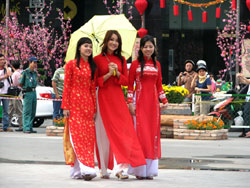 Tet Lunar New Year in Ho Chi Minh City