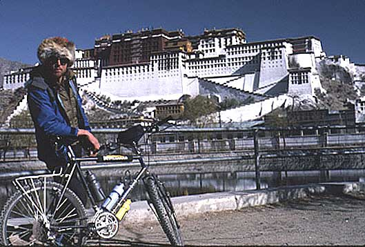 Michael Buckley in Lhasa